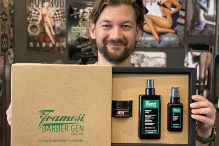 Jan Willem Huffmeijer B4men Framesi Barber Gen Verzorging voor mannen