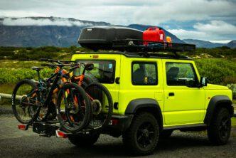 De e-bike op de trekhaak B4men