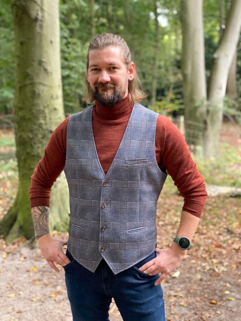 Jan Willem Huffmeijer Suitable herfst winter 2021 / 2022 met mooi gilet