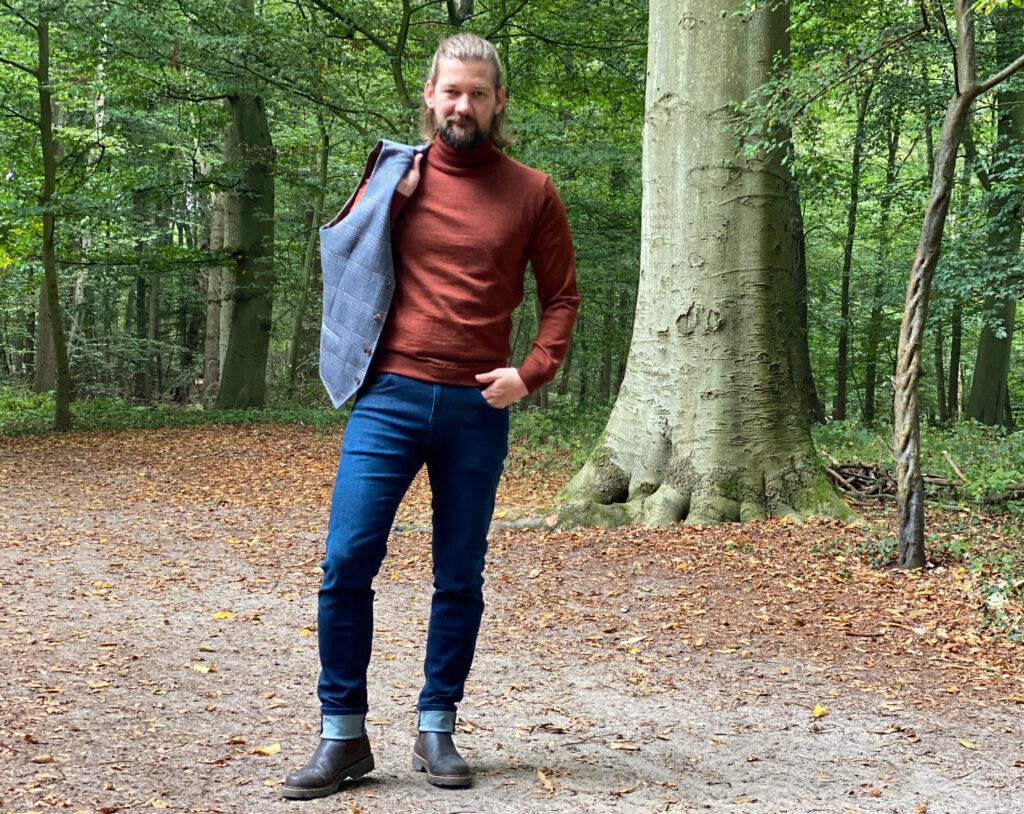 Jan Willem Huffmeijer Suitable herfst winter 2021 / 2022 in het bos