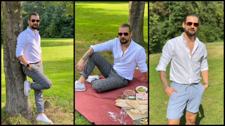 Nazomer mode voor mannen van Suitable by B4men